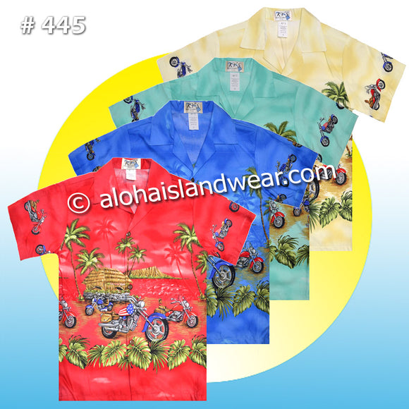 Copy of Boy Hawaiian Shirt - 445