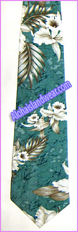 Hawaiian Necktie - 456 Green