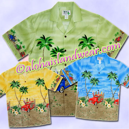 Island Woody Hawaiian Shirt - 467