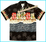 Island Slipper Hawaiian Shirt - 480