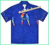 Tropical Parrot Hawaiian Shirt - 492