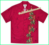 Palm & Heliconia Unique Hawaiian Shirt - 495