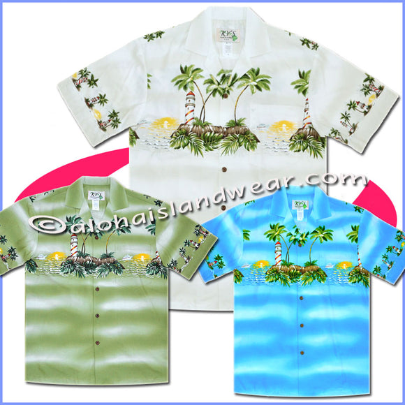 Light-House Hawaiian Shirt - 507