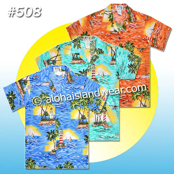 Boy Hawaiian Shirt - 508