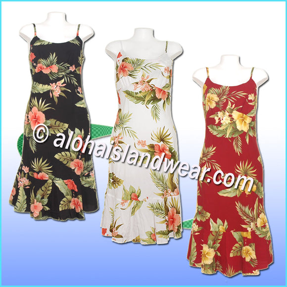 Classic Hawaiian Sun Dress - 820
