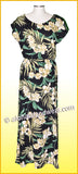 Full Length Hawaiian Luau Dress - 822