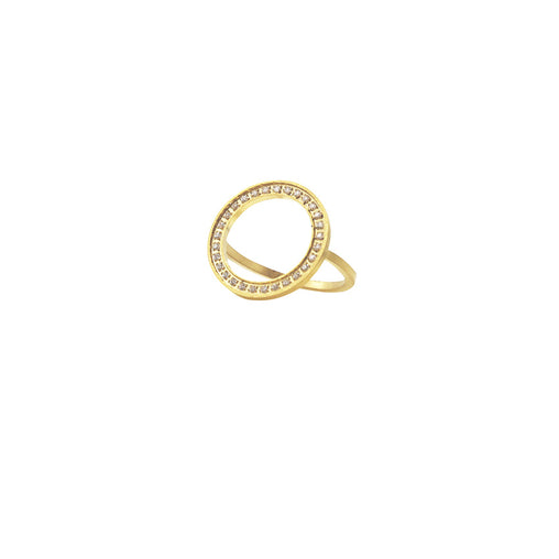 Karma zirconia ring