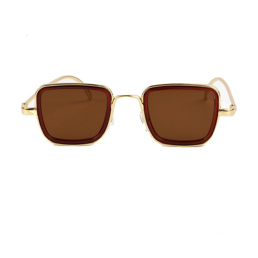 PREPPY Carla solbriller - Gold/Brown tint
