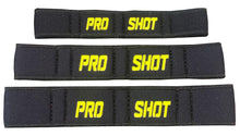 Load image into Gallery viewer, Black/Black/Yellow Pro Shot Elite Basketball Finger Sleeves