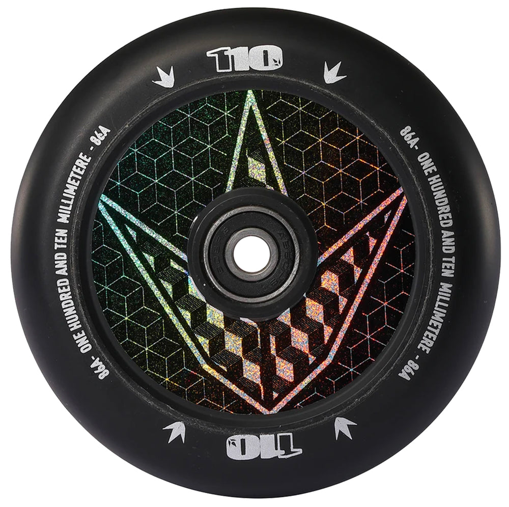 Envy Full Core 110mm Geo Logo Hologram Wheel