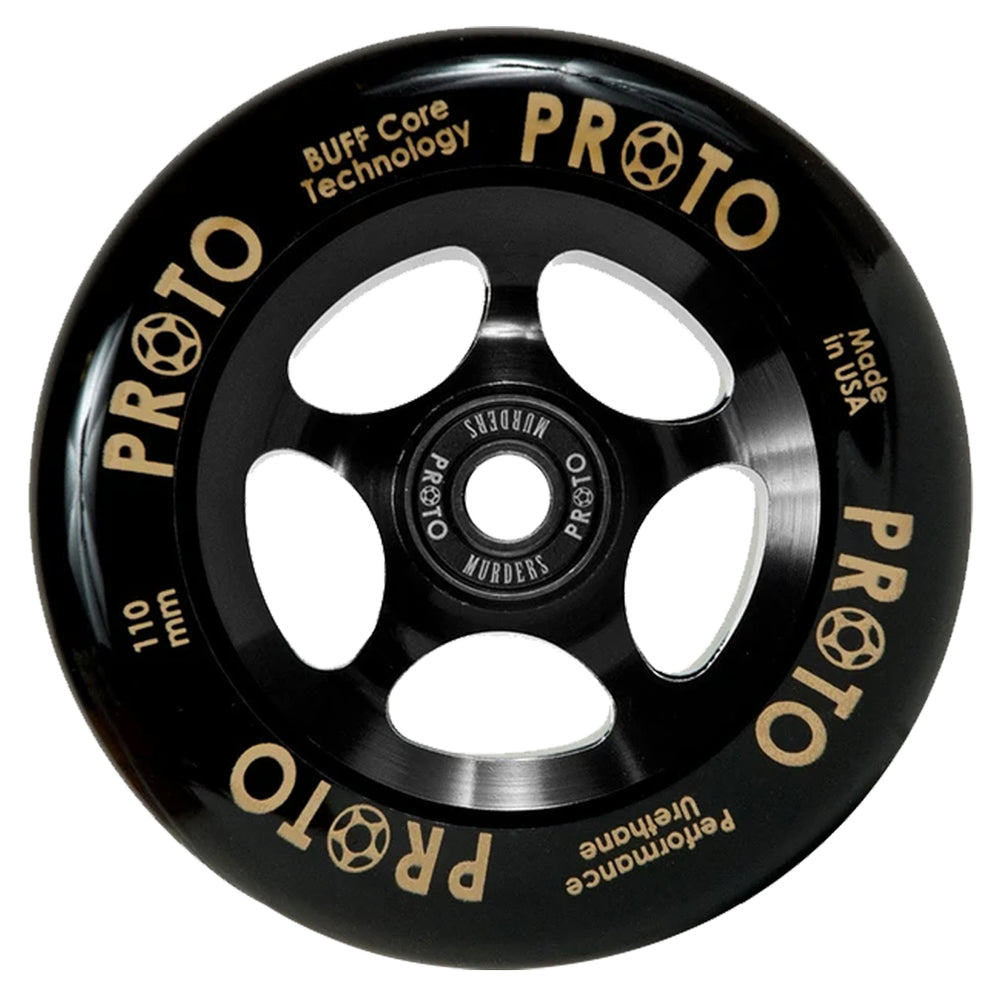 Proto Gripper 110mm Black/Black Wheels