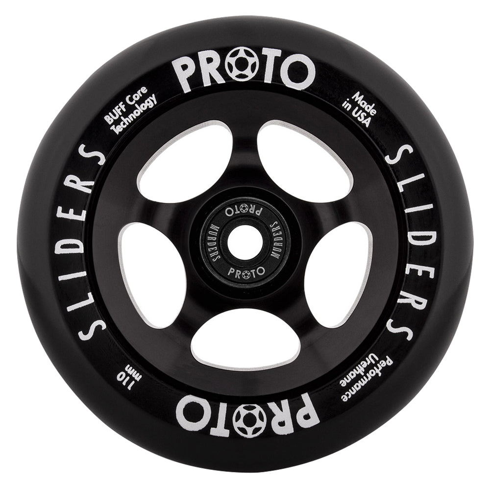 Proto Slider 110mm Black/Black Wheels