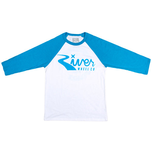 River Classic 3/4 Sleeve Shirt (Blue/White)