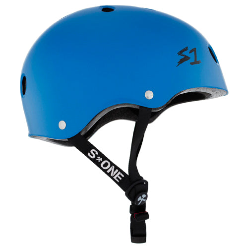Load image into Gallery viewer, S1 Lifer Helmet Cyan Matte