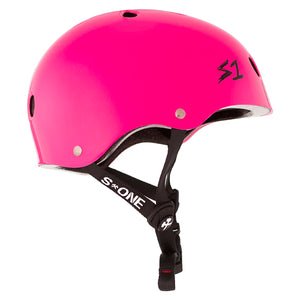 Load image into Gallery viewer, S1 Lifer Helmet Hot Pink Gloss