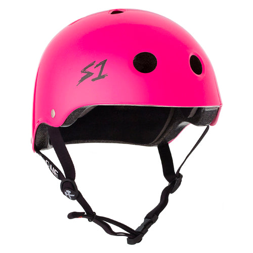 S1 Lifer Helmet Hot Pink Gloss
