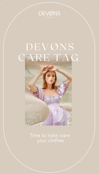[DEVØNS TIPS 01] HOW TO TAKE CARE FOR YOUR CLOTHES AND KEEP THEM FOR LONGER
