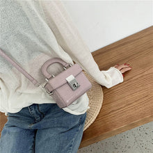 Load image into Gallery viewer, Stone pattern Mini Tote bag 2020 Fashion New High quality PU Leather Women's Designer Handbag Portable Shoulder Messenger Bag