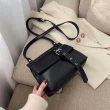 Load image into Gallery viewer, Vintage Square Crossbody bag 2020 Fashion New High quality PU Leather Women's Designer Handbag Lock Shoulder Messenger Bag