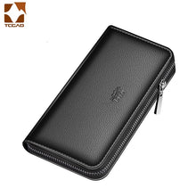 Load image into Gallery viewer, men's wallet clutch bag billeteras para hombre mens wallet man purse leather genuine luxury carteira masculina couro 2020