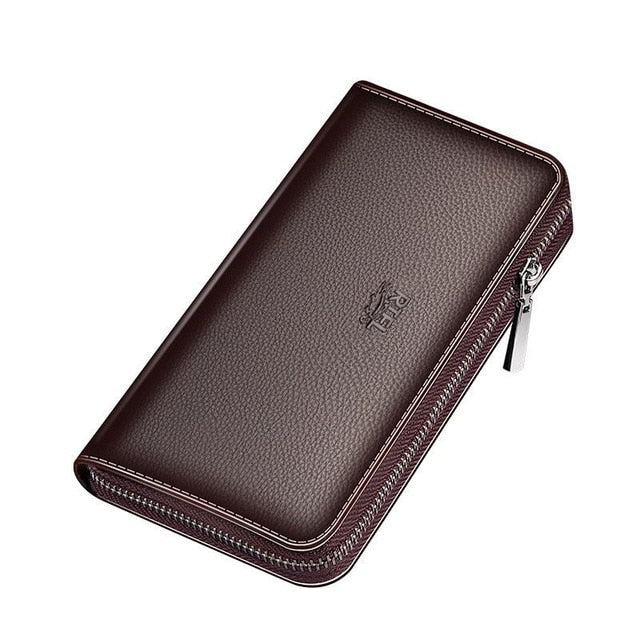 men's wallet clutch bag billeteras para hombre mens wallet man purse leather genuine luxury carteira masculina couro 2020