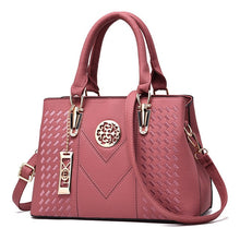 Load image into Gallery viewer, Embroidery Messenger Bags Women Leather Handbags Bags for Women 2019 Sac a Main Ladies Hand Bag Female bag new