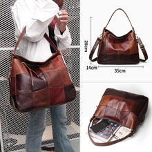 Load image into Gallery viewer, Cobbler Legend Women Bag Genuine Leather Ladies Bucket Shoulder Designer Band Large Crossbody For Female Retro Luxury Top-handle