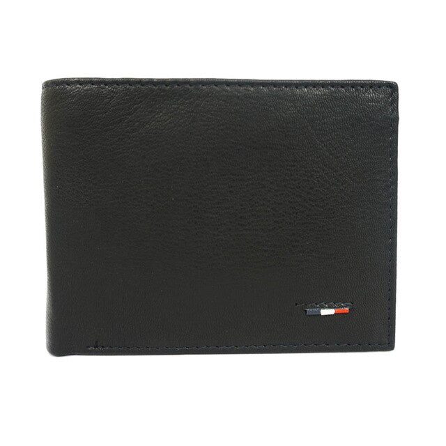 Wallet Man leather with smooth texture size classic internal compartment 7744