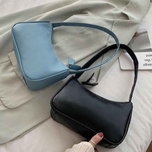 Load image into Gallery viewer, Handle Bag Women Retro Handbag PU Leather Shoulder Totes Underarm Vintage Top Handle Bag Female Small Subaxillary Bags Clutch