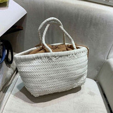 Load image into Gallery viewer, 2019 New Fashion Celebrity Brand Vintage Woven Handbag Hobo Bags Women Shoulder Handbags Top Quality Large Size Purse