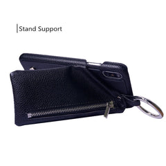 iPhone Wallet Case Zipper