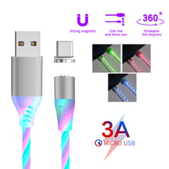 3A USB Colorful LED Magnetic