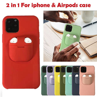 iPhone AirPods Silicone Protection