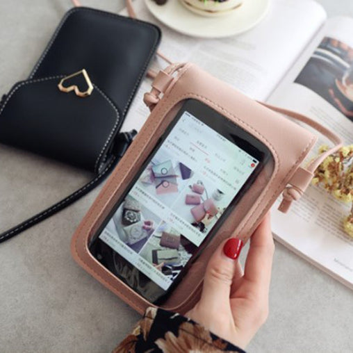 Purse Smartphone Wallet Leather