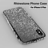 Rhinestone Protective Shell iPhone