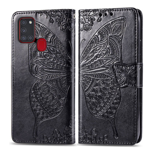 Butterfly Case Flip Leather