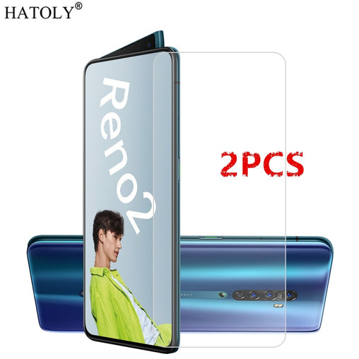 2Pcs OPPO Reno 2 Glass