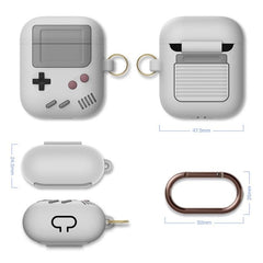 Cartoon Retro Camera Wireless Bluetooth Earphone Case for Airpods 2 1 Cute 3D xbox Game Console gameboy Silicone Headphone Cover