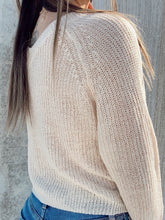 Load image into Gallery viewer, Riley Tie Front Sweater