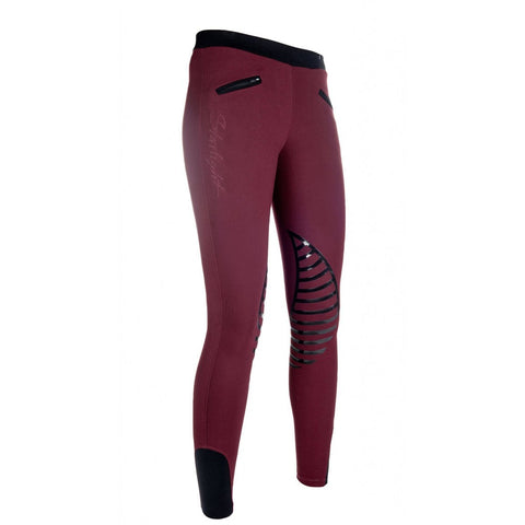 HKM Starlight- Silicone Knee Patch Riding Leggings