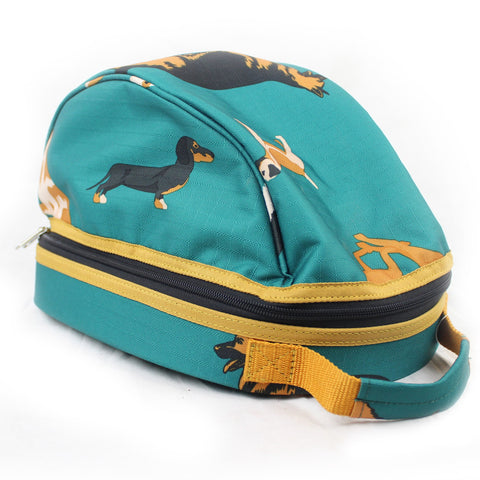 Dogs Print Hat Bag