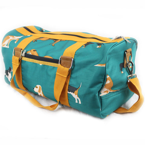 Dogs Print Duffel Bag