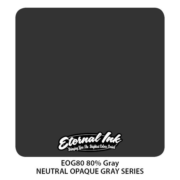 Eternal Ink 80% Gray