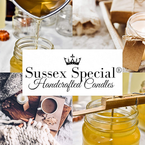 sussex special luxury soy wax handcrafted candles exclusive small batches limited edition collections