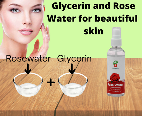 glycerin and rose water for fair skin