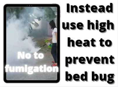 heat to treat bed bug