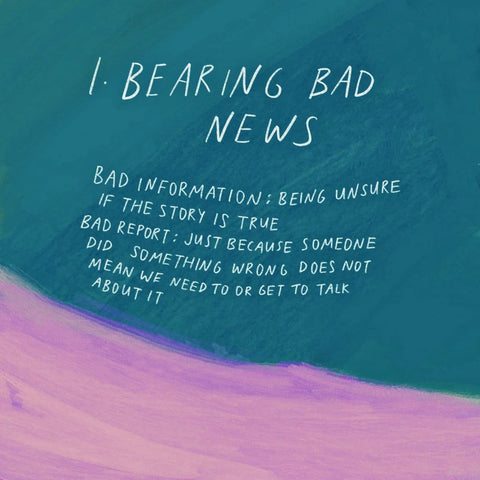 Bearing Bad News - Encouraging short sermons and devotionals compiled by The Commandment Co