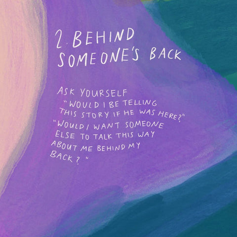 Behind someones back - Encouraging short sermons and devotionals compiled by The Commandment Co