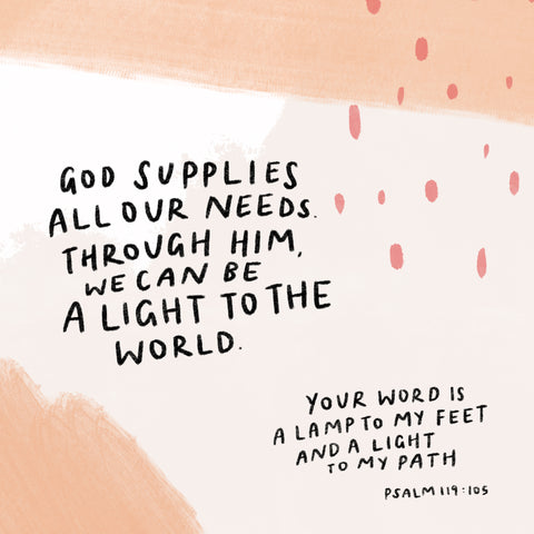 God supplies all our needs short sermon series by TCCO