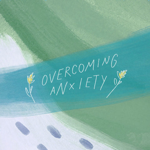 Overcoming Anxiety  - Encouraging short sermons and devotionals compiled by The Commandment Co